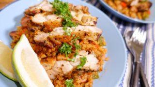 あなたの食欲と料理欲を刺激する!オリジナルスパイスで作る「ジャンバラヤ」